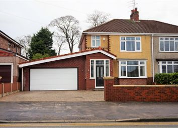 Thumbnail 3 bed semi-detached house for sale in Liverpool Road North, Liverpool