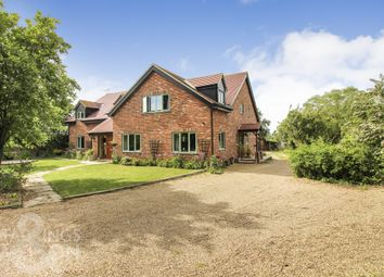 5 bed detached house for sale in Buckenham Road, Strumpshaw, Norwich NR13
