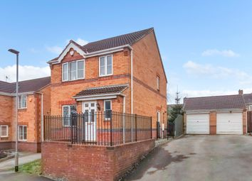Thumbnail 3 bed detached house for sale in Mercia Court, Huthwaite, Sutton-In-Ashfield