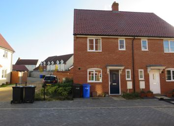 Thumbnail 3 bedroom semi-detached house for sale in Gilbert Road, Stanton, Bury St. Edmunds