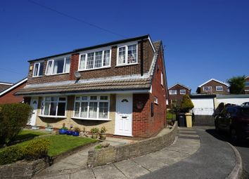 Thumbnail 3 bed semi-detached house for sale in Cheviot Close, Horwich, Bolton