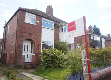 Thumbnail 3 bedroom semi-detached house to rent in Riverton Road, East Didsbury