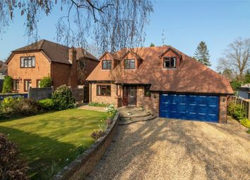Thumbnail 4 bed detached house for sale in Courtmoor Avenue, Fleet