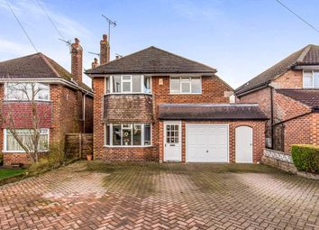 Thumbnail 3 bed detached house for sale in Finney Drive, Wilmslow