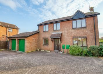 Thumbnail 4 bed detached house for sale in Woodhall Close, West Hunsbury, Northampton