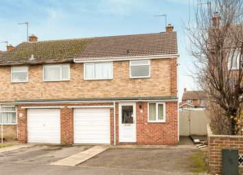 Thumbnail 3 bed semi-detached house for sale in St. Hildas Close, Bicester