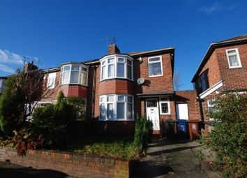 Thumbnail 2 bedroom semi-detached house to rent in Park Avenue, Gosforth, Newcastle Upon Tyne