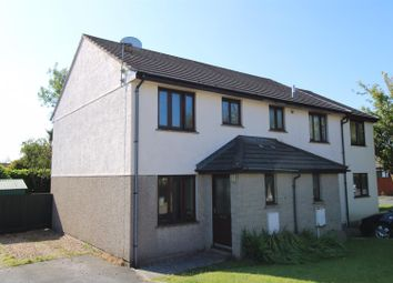 Thumbnail 2 bed semi-detached house for sale in Seneschall Park, Helston