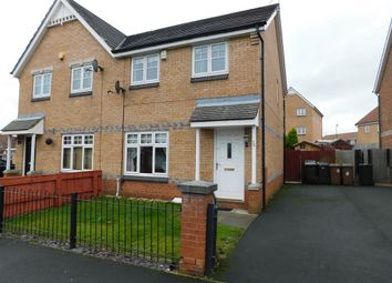 Thumbnail 3 bed semi-detached house to rent in Oakham Gardens, North Shields