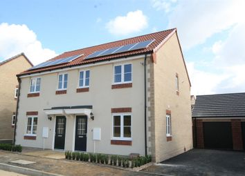 Thumbnail 3 bed semi-detached house to rent in Brocklebank Road, Barleythorpe, Oakham
