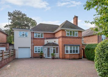 Thumbnail 5 bed detached house for sale in Leicester Road, Glenfield, Leics