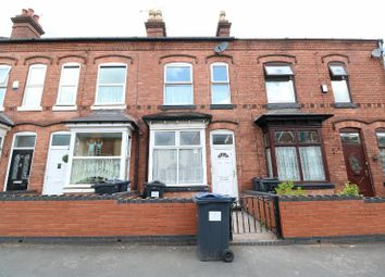 Thumbnail 3 bed terraced house for sale in Shenstone Road, Edgbaston, West Midlands