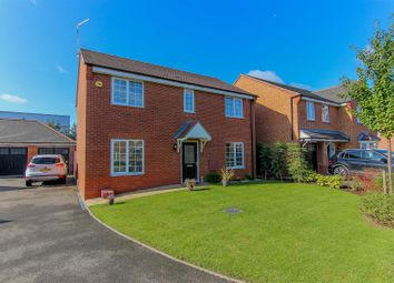 Thumbnail 4 bed detached house for sale in Brackley Crescent, Chase Meadow, Warwick