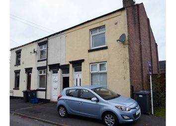 Thumbnail 3 bed end terrace house for sale in Wesley Street, Bignall End, Stoke-On-Trent