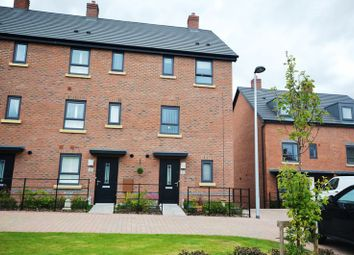 Thumbnail 4 bed terraced house for sale in Duddell Street, Lawley Village, Telford