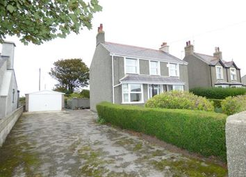 Thumbnail 4 bed detached house for sale in Station Road, Valley, Holyhead, Sir Ynys Mon