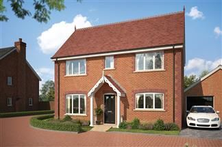 Thumbnail 3 bed detached house for sale in Wenman Road, Thame