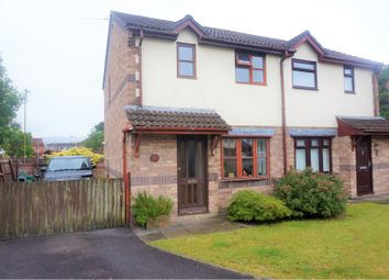 Thumbnail 2 bed semi-detached house for sale in Castell Morgraig, Caerphilly