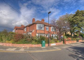 Thumbnail 3 bed semi-detached house for sale in Grosvenor Avenue, Jesmond, Newcastle Upon Tyne