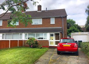 Thumbnail 3 bedroom semi-detached house for sale in Denbigh Crescent, West Bromwich