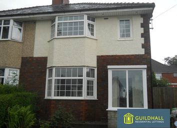 Thumbnail 3 bedroom semi-detached house to rent in Leyland Road, Penwortham, Preston
