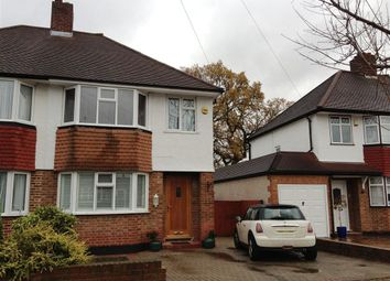 Thumbnail 3 bed semi-detached house to rent in Ancaster Crescent, New Malden