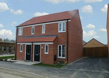 Thumbnail 2 bedroom semi-detached house to rent in Linus Grove, Cardea, Stanground, Peterborough