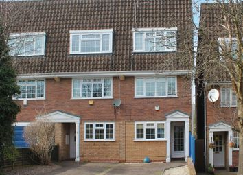 Thumbnail 4 bed town house for sale in Waldale Drive, Stoneygate, Leicester