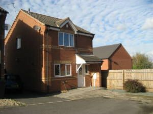 Thumbnail 3 bed detached house to rent in Stable Mews, Station Road, Woodville, Swadlincote