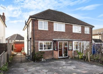 Thumbnail 3 bed semi-detached house for sale in Beaconsfield Road, Epsom