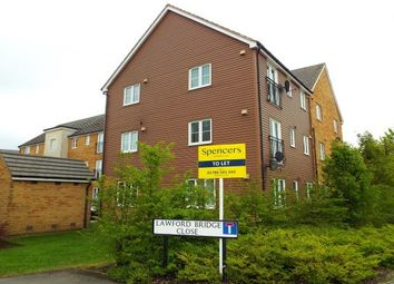Thumbnail 2 bed flat to rent in Lawford Bridge Close, Rugby