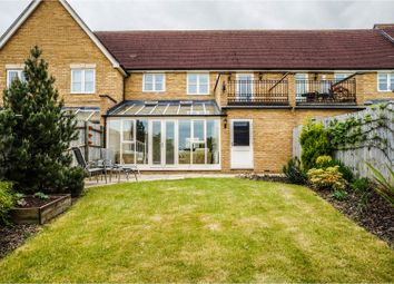 Thumbnail 3 bedroom terraced house for sale in Darwin Close, Medbourne