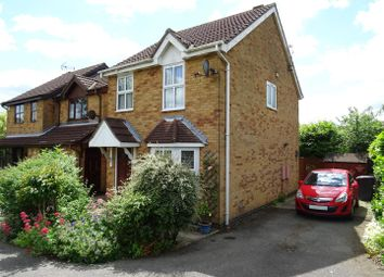 Thumbnail 3 bed town house for sale in Mill Pond, Hugglescote, Leicestershire