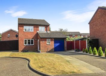 Thumbnail 3 bed detached house for sale in Partridge Grove, Werrington, Peterborough
