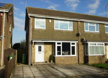 Thumbnail 3 bed semi-detached house for sale in Downland Road, Upper Beeding, Steyning, West Sussex