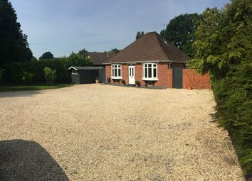 Thumbnail 3 bed detached bungalow for sale in Botley Road, Burridge, Southampton