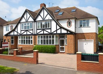 Thumbnail 6 bed semi-detached house for sale in Holmwood Road, Cheam