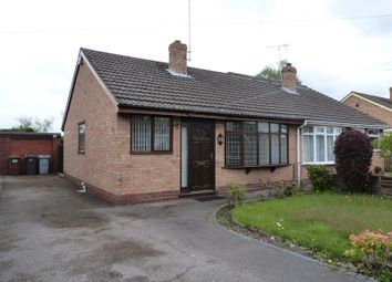 Thumbnail 2 bed semi-detached bungalow to rent in Woodgate Avenue, Church Lawton, Cheshire