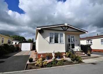 Thumbnail 2 bed mobile/park home for sale in The Meadow, Mount Pleasant Residential Park, Goostrey, Crewe
