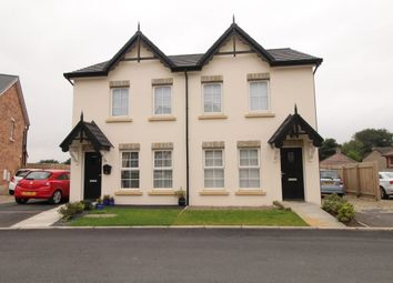 Thumbnail 2 bed semi-detached house to rent in River Hill Close, Newtownards