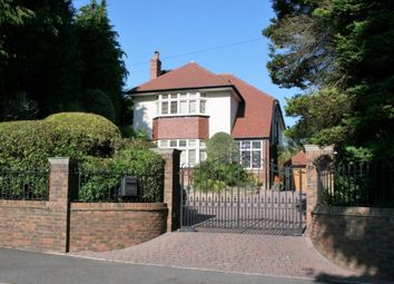 Thumbnail 4 bed detached house for sale in St. Osmunds Road, Canford Cliffs, Poole