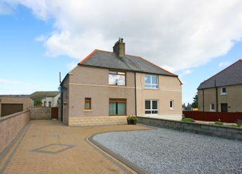 Thumbnail Semi-detached house for sale in 18 Mill Crescent, Buckie