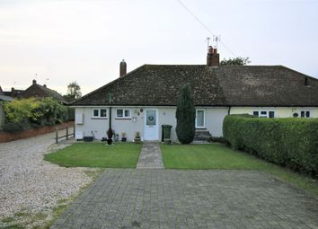 Thumbnail 3 bed semi-detached bungalow for sale in Manor Road, Sherborne St John, Basingstoke