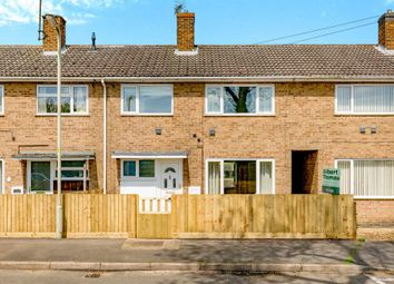 Thumbnail 3 bed terraced house for sale in Greetham Road, Cottesmore, Oakham