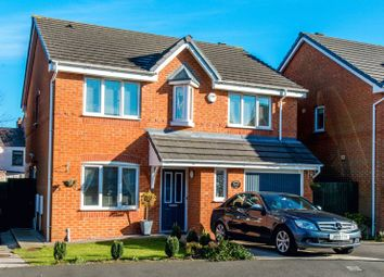 Thumbnail 4 bed detached house for sale in Rushwood Park, Standish, Wigan
