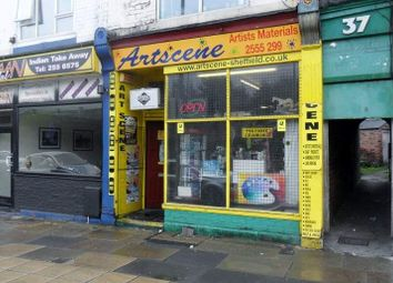 Thumbnail Retail premises for sale in 25 Chesterfield Road, Sheffield