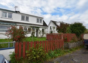 Thumbnail 3 bed semi-detached house for sale in Isle Of Lismore, Oban