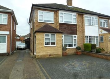 Thumbnail 3 bedroom semi-detached house for sale in Martins Drive, Cheshunt
