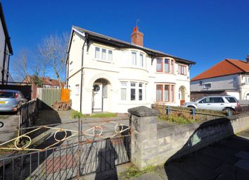 Thumbnail 3 bedroom semi-detached house for sale in Ffrancon Drive, Bebington, Wirral