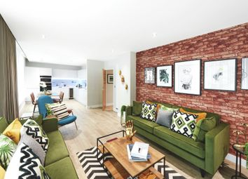 Thumbnail 2 bedroom flat for sale in Centric Close, Oval Road, London